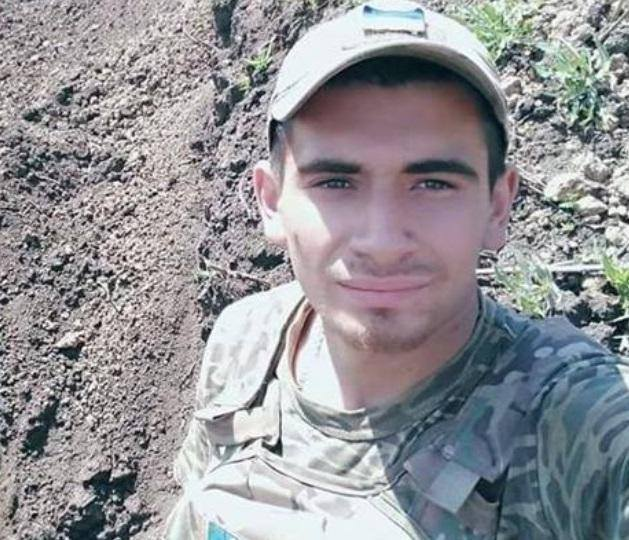 Member of the 36th Brigade Maksym Avdienko killed in Donbas on Sept. 5 01