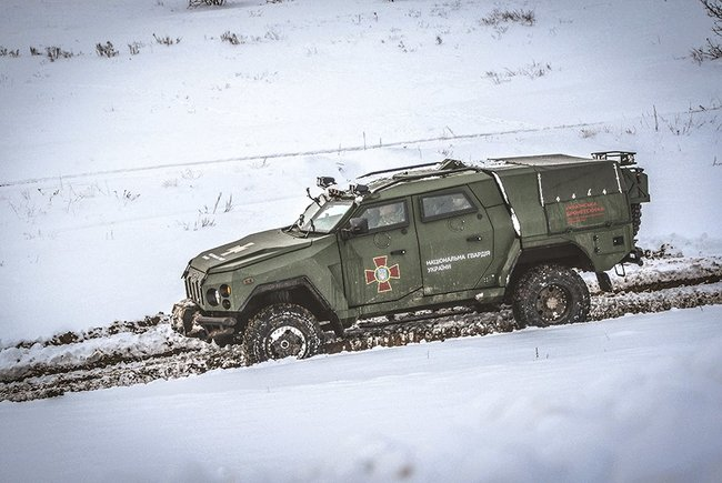 New Varta Novator armored vehicle designed for National Guard successfully tested, - Interior Ministry 01