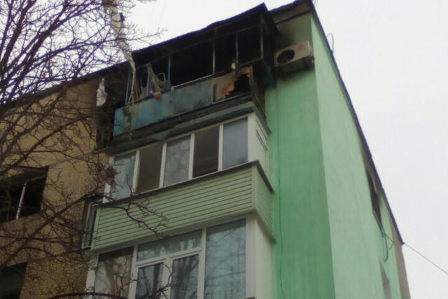 Five people injured as gas cylinder explodes in Kharkiv region 01