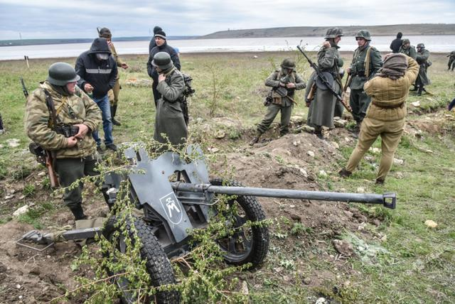 Historical reenactment of 1944 Odesa liberation battle took place in Ukraines southern region 09