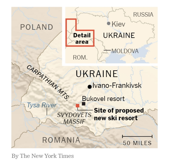 NYT replaces photo showing map of Ukraine without Crimea 01