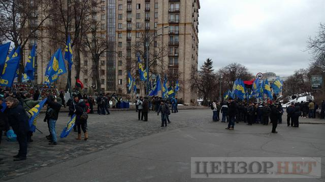National Dignity March taking place in Kyiv downtown 02