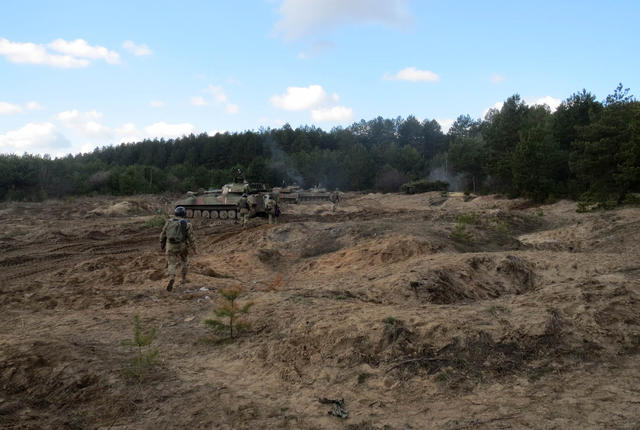 SPG live fire drills took place in Chernihiv region 04