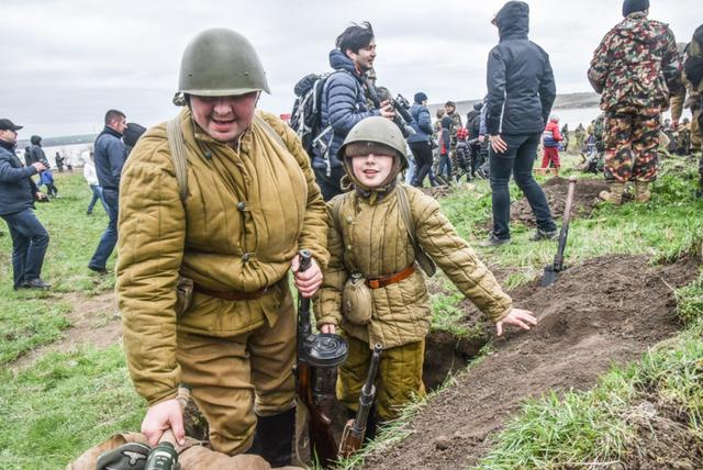Historical reenactment of 1944 Odesa liberation battle took place in Ukraines southern region 10