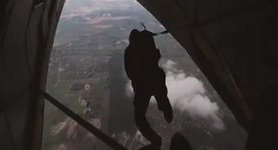 National Guard Spetsnaz conducted airborne landing training. VIDEO
